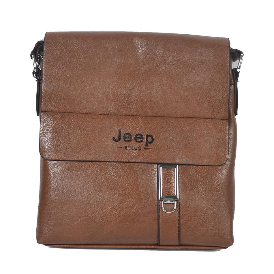 "Сумка-планшетка ""Jeep 015-9-3 S.Brown"" (размер 3)"