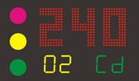 Светодиодное электронное табло для стрельбы из лука SL210