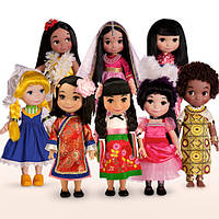 Поющая кукла Дисней /''it's a small world'' China  Singing Doll - 16''