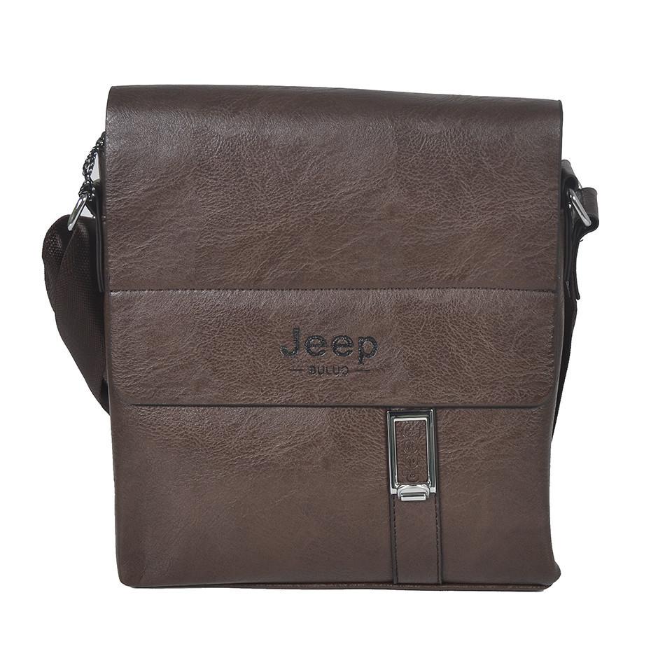 "Сумка-планшетка ""Jeep 015-9-2 Brown"" (размер 2)"