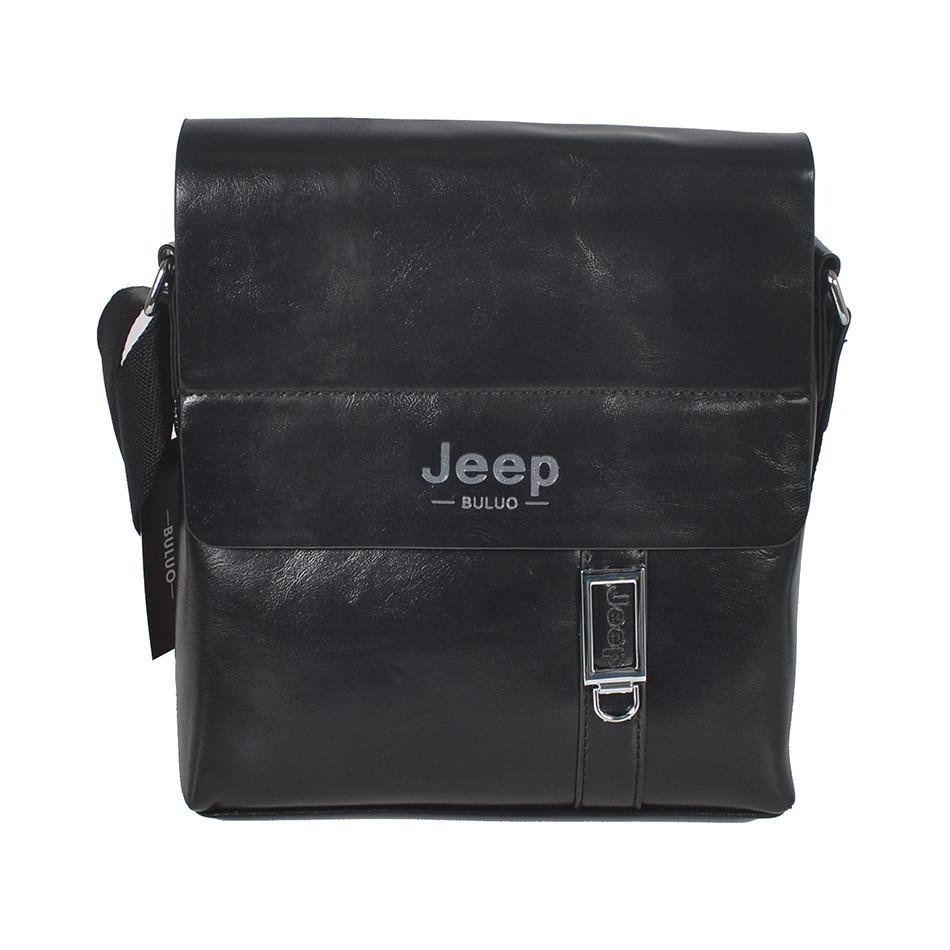 """Сумка-планшетка """"Jeep015-9-2 Black"""" (размер 2)"""