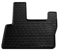 Резиновый водительский коврик в салон DAF XF III (XF105) 2005-2013 (STINGRAY)