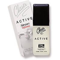 """Туалетная вода для мужчин """"Chaser Аctive homme sport EDT """" (100 мл.)"""
