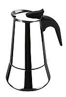 Кофеварка гейзерная эспрессо (индукционная / 6 порций) Bergner BG-2895-MM