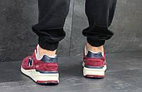 Кроссовки кросівки мужские New Balance 999 Бордовый, 41