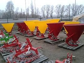 Розкидач лійка міндобрив 500 л Jar Met Польша , фото 2