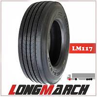 Шина 315/60R22.5 152/148K LongMarch LM117 руль, грузовые шины на рулевую ось