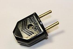 Вилка сетевая на кабель 1А Код.55898