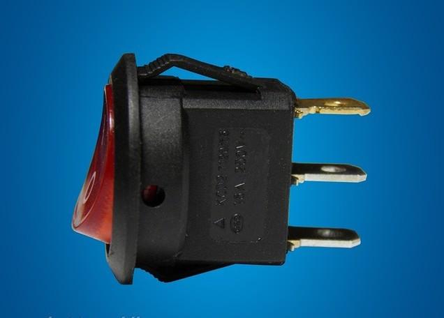 Переключатель двухпозиционный с индикацией 6A Код.55882