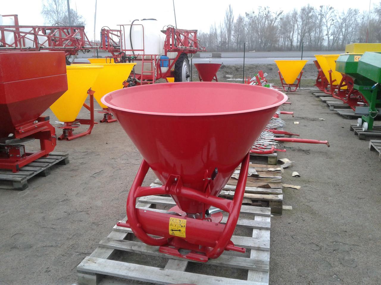Лійка розкидач міндобрив 500 л Jar Met Польша