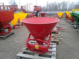 Розкидач лійка міндобрив 500 л бак метал Польща, фото 3