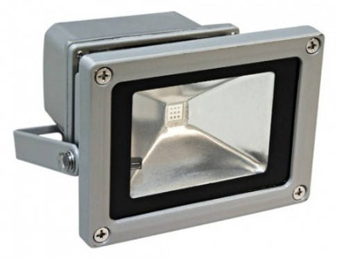 Светодиодный прожектор RGB 10 Вт пульт в комплекте 220V Код.56659, фото 2