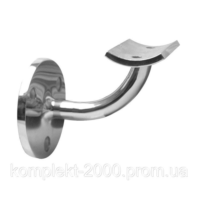 Крепление | Держатель под круглый поручень из нержавеющей стали