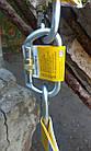 Карабин альпинистский Singing Rock Keylock Connector Oval Steel, фото 2