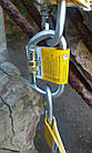 Карабин альпинистский Singing Rock Keylock Connector Oval Steel, фото 3