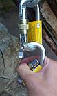 Карабин альпинистский Singing Rock Keylock Connector Oval Steel, фото 4