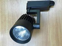 Трековый светильник на шинопровод SL-4003 30W 6400К черный Код.58052, фото 2