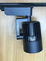 Трековый светильник на шинопровод SL-4003 30W 6400К черный Код.58052, фото 3