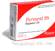 Пищевая добавка FERMENT S6 для профилактика диабета II типа