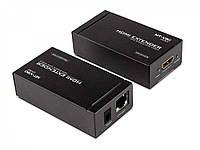 Удлинитель (передатчик) HDMI по витой паре до 50 метров (MT-ED05)