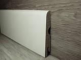 Ламінована плінтус МДФ підлоговий Pedross Дуб білий, 70х14х2400мм, фото 3