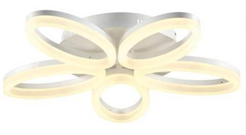 Светодиодная люстра Horoz 40W 4000K белая Код.58497, фото 2