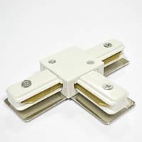 Соединитель для шинопровода т-образный однофазный 16A белый Код. 58515