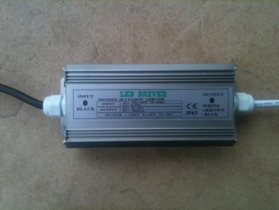 Драйвер для светодиодного прожектора 100W IP65 Код. 58535, фото 2