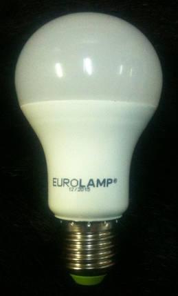 Светодиодная лампа Eurolamp LED-A60-10274(D) LED A60 10W E27 4000K Kод.58586, фото 2