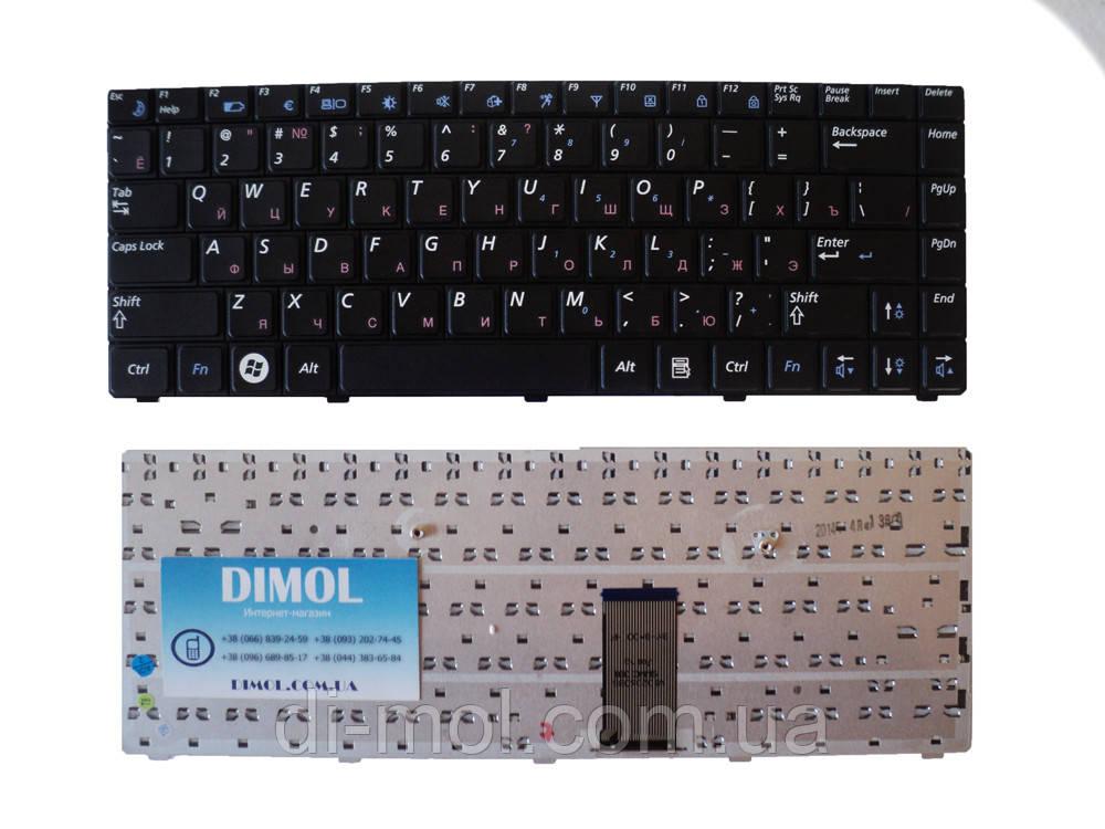 Оригинальная клавиатура для Samsung R420, R423, R425, R470, R480, RV408, RV410 black Original RU