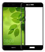 Защитное стекло Full Cover на Huawei Nova plus Черное