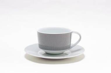 Чашка чайная с блюдцем 240мл Smart