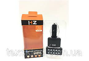 FM Модулятор автомобільний HZ USB/Bluetooth (12-24V)