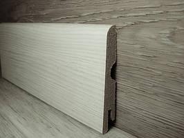 Плинтус МДФ для пола Pedross Дуб светло-серый 6190-Р090009, 14х70х2400мм