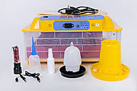 Инкубатор автоматический для кур перепелов 36/144 (кур/перепел) +12 V