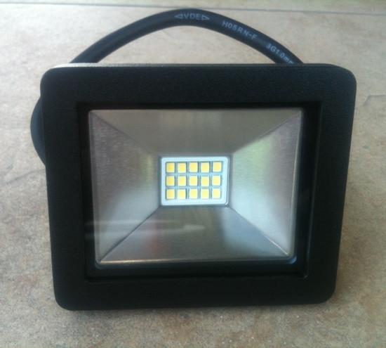 Светодиодный прожектор Slim SMD SL-4001 10W 6400K Код.56232