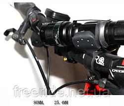 Велосипедный держатель, зажим, крепеж фонарика, фото 3