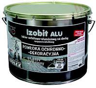 IZOBIT ALU / Изобит Алу - битумно-алюминивая эмульсия для защиты кровли, стойкая к УФ (уп. 9 кг)