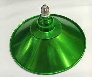 Светодиодная лампа Lemanso LM712 50W E27 6500K IP65 с отражателем зеленый Код.58717, фото 2