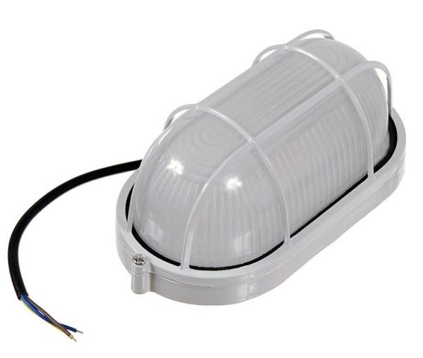 Антивандальный светильник для ЖКХ накладной 10W овальный Код.58749