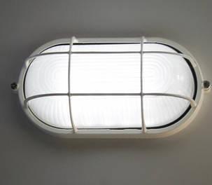 Антивандальный светильник для ЖКХ накладной 10W овальный Код.58749, фото 2