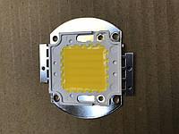 Светодиод матричный СОВ для прожектора 50W 3000К (45Х45 mil) Код.58816