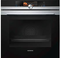 Духовой шкаф с пароваркой Siemens HS658GXS1 (71 л, 3650 Вт)