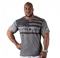 USA Flag Tee Gray, фото 1