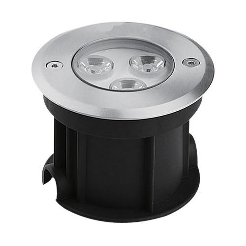 Светодиодный тротуарный светильник с линзой SP4111 3W 2700K IP67 Код.58887