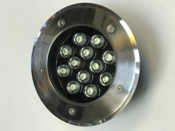 Светодиодный тротуарный линзованный светильник LM13 12W 6500K IP65 220V Код.58906