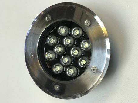 Светодиодный тротуарный линзованный светильник LM13 12W 6500K IP65 220V Код.58906, фото 2