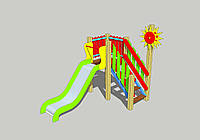 Детский игровой комплекс для улицы ДИК-6