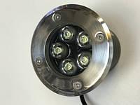 Светодиодный тротуарный линзованный светильник LM987 5W 6500K IP65 220V Код.58900