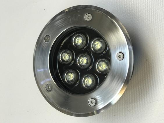 Светодиодный тротуарный линзованный светильник LM988 7W 6500K IP65 220V Код.58902